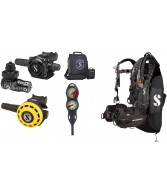 Scubapro MK25 Evo A700 Black Tec and Hydros Package