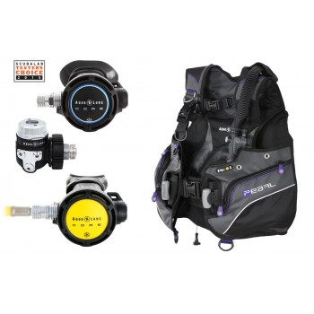 Aqua Lung Core Regs Pearl BCD Package