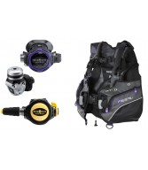 Aqua Lung Legend Regs Pearl BCD Single Gauge Package